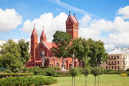 catholic chapel: Catholic chapel St Simon and St Elena. Minsk. Belarus.