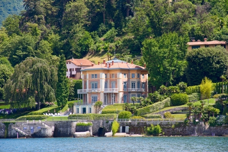Luxury 19th-century villa on the Como lake, Italy  photo