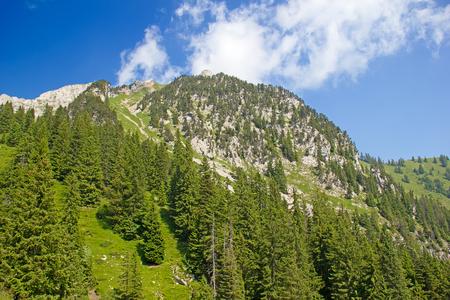View near the summit of the Pilatus mountain photo