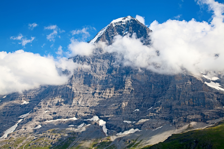 eiger: Mount Eiger in the Jungfrau region