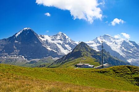 eiger: Top of Mannlichen (Jungfrau region, Bern, Switzerland)