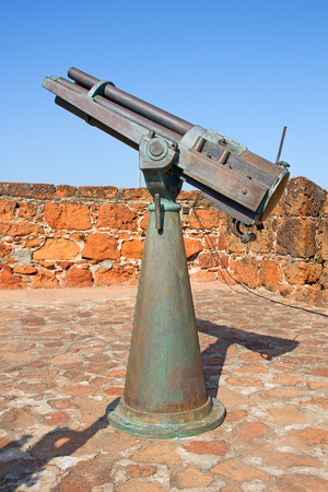 Old portugese fort in Maputo, Mozambique photo