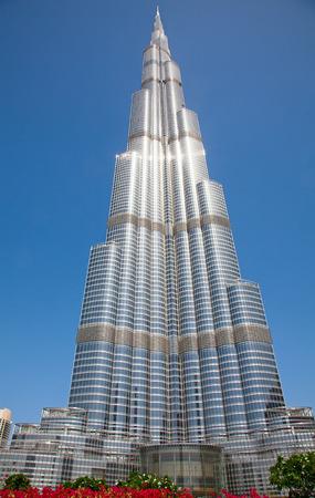 achievment: DUBAI, UAE - APRIL 27: Burj Khalifa, worlds tallest tower, Downtown Burj Dubai April 27, 2014 in Dubai, United Arab Emirates. Editorial