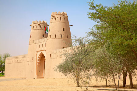 Famous Jahili fort in Al Ain oasis, United Arab Emirates photo