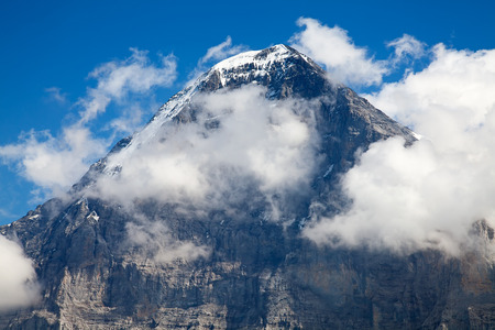 Eiger mountain in the Jungfrau region photo