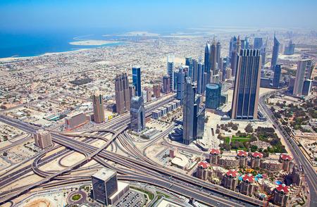 DUBAI, UAE - APRIL 27: Downtown Burj Dubai April 27, 2014 in Dubai, United Arab Emirates. Dubai is biggest city of UAE and one of the most important financial centers of the Middle East economy