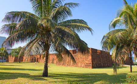 portugese: Old portugese fort in Maputo, Mozambique Stock Photo