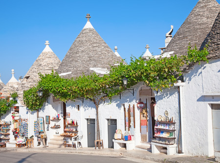 gargano: Traditional Trulli houses of the Apulia region