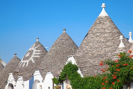 trulli: Traditional Trulli houses of the Apulia region