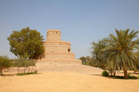 Famous Jahili fort in Al Ain oasis, United Arab Emirates photo
