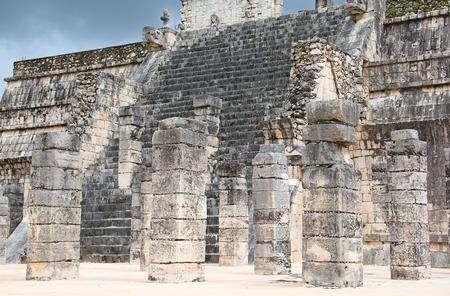 Ruins of the Chichen Itza in Mexico photo