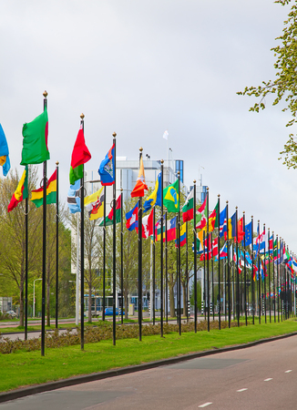 nations: United Nations offices in Hague, Netherlands