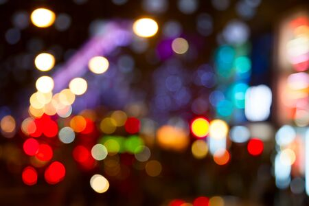 Luces de la noche de la ciudad de Londres