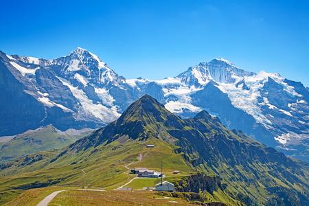 jungfraujoch: Top of Mannlichen (Jungfrau region, Bern, Switzerland)