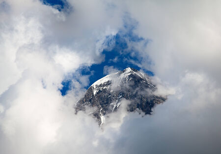 aletsch: Eiger mountain in the Jungfrau region Stock Photo