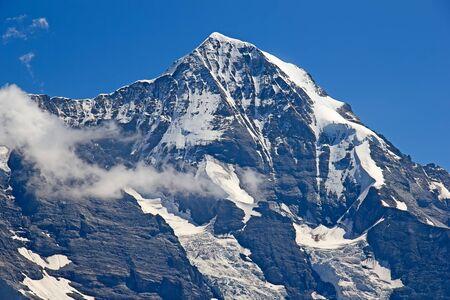 eiger: Eiger Jungfrau (Jungfrau region, Switzerland) Stock Photo