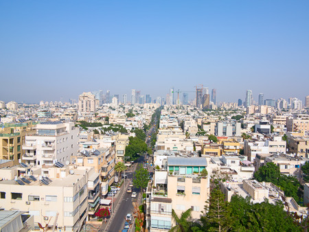 old home office: Capital of Israel - Tel Aviv city
