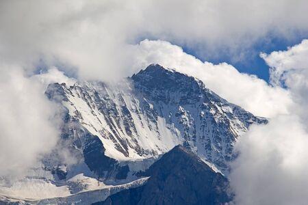 eiger: Eiger mountain in the Jungfrau region Stock Photo