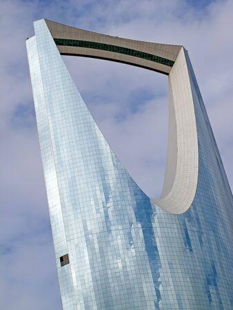 opec: RIYADH - DECEMBER 22: Kingdom tower on December 22, 2009 in Riyadh, Saudi Arabia. Kingdom tower is a business and convention center, shoping mall and one of the main landmarks of Riyadh city