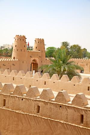 casbah: Famous Jahili fort in Al Ain oasis, United Arab Emirates