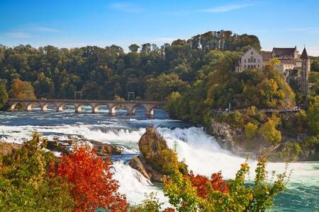 rhein: Rheinfall - the biggest waterfall in Europe
