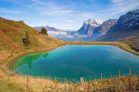 aletsch: Autumn landscape in the Jungfrau region