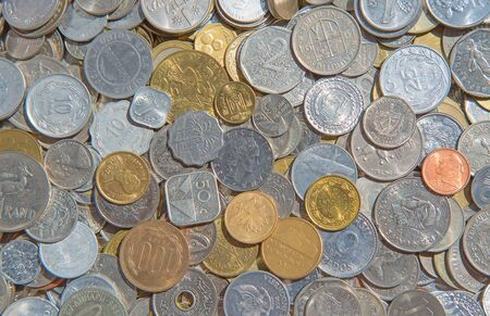 circulated: Collection of the old circulated coins