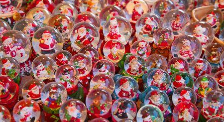 strasbourg: Colorful Christmas market in Strasbourg, Alsace, France