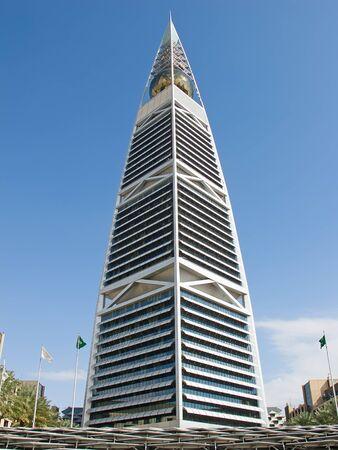 gcc: RIYADH - DECEMBER 22: Al Faisaliah tower facade on December 22, 2009 in Riyadh, Saudi Arabia. Al Faisaliah towers is a luxury hotel and the most distinctive skyscraper in Saudi Arabia