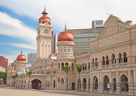 Sultan Abdul Samad gebouw in Kuala Lumpur, Maleisië