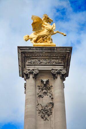 alexandre: Bridge of Alexandre III in Paris, France