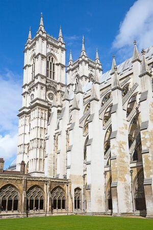 the abbey: Westminster abbey in London, UK