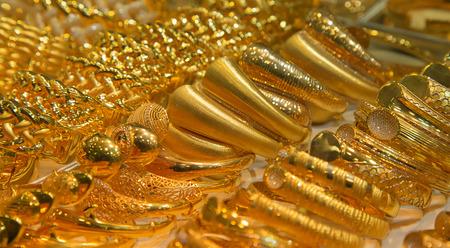gold souk: Gold on the famous Golden souk in Dubai