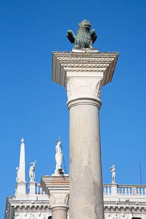 Rues de l'ancienne ville de Venise, Italie
