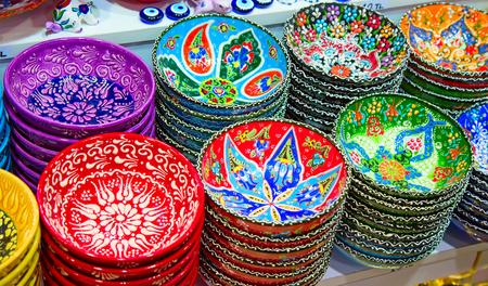 bazaar: Traditional Turkish ceramics on the Grand Bazaar