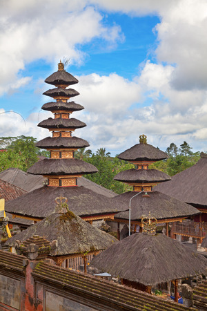 Mother Temple of Besakih. Largest hindu temple of Bali