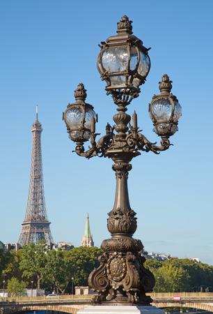 Bridge of Alexandre III in Paris, France
