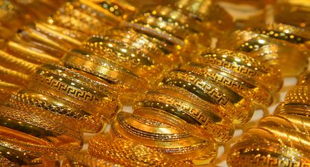 souq: Gold on the famous Golden souk in Dubai
