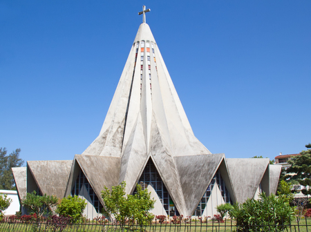 Church in Polana district of Maputo, Mozambique