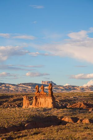 Goblin state park near Hanksville, Utah, USA Stock Photo