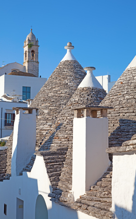 Traditional Trulli houses of the Apulia region