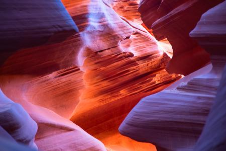 page arizona: Famous Antelope canyon near Page, Arizona