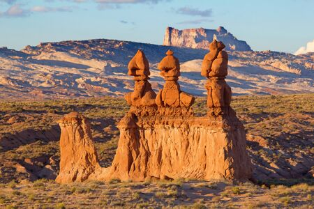 Goblin state park near Hanksville, Utah, USA Stock Photo