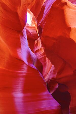 Famous Antelope canyon near Page, Arizona