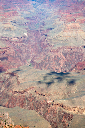 South Rim of the Grand Canyon. Grand Canyon National Park in Arizona, USA