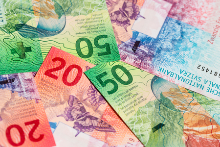 새 스위스 지폐 (2017 년 발행)의 컬렉션