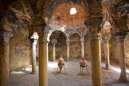 Arab bath in the Palma de Mallorca, Spain Stock Photo