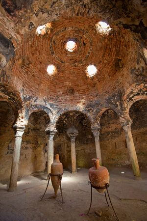 Arab bath in the Palma de Mallorca, Spain Editorial