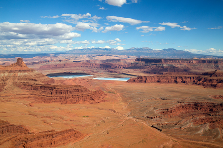 Dead horse state park near the Canyonlands Narional Park in Utah, USA