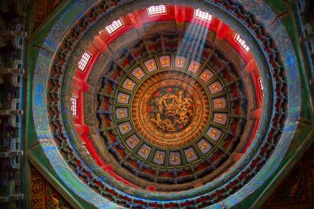 De Verboden Stad (Palace Museum), het Chinese keizerlijk paleis van de Ming-dynastie tot het einde van de Qing-dynastie (1420 tot 1912).